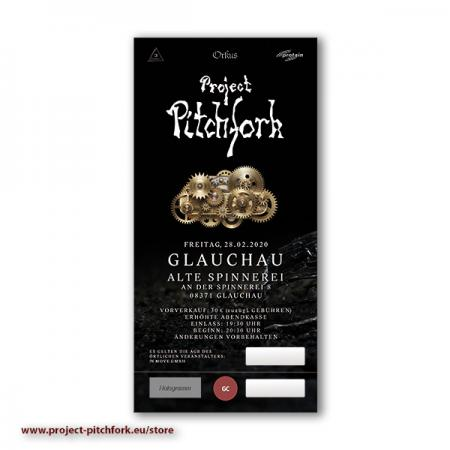 Ticket PPF Glauchau, 28.02.2020