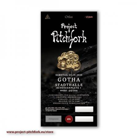 Ticket PPF Gotha, 30.10.2021