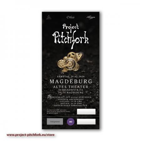 Ticket PPF Magdeburg, 29.02.2020