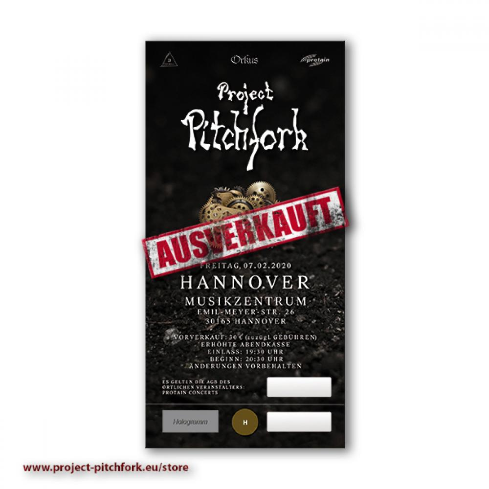 Ticket PPF Hannover, 13.08.2021