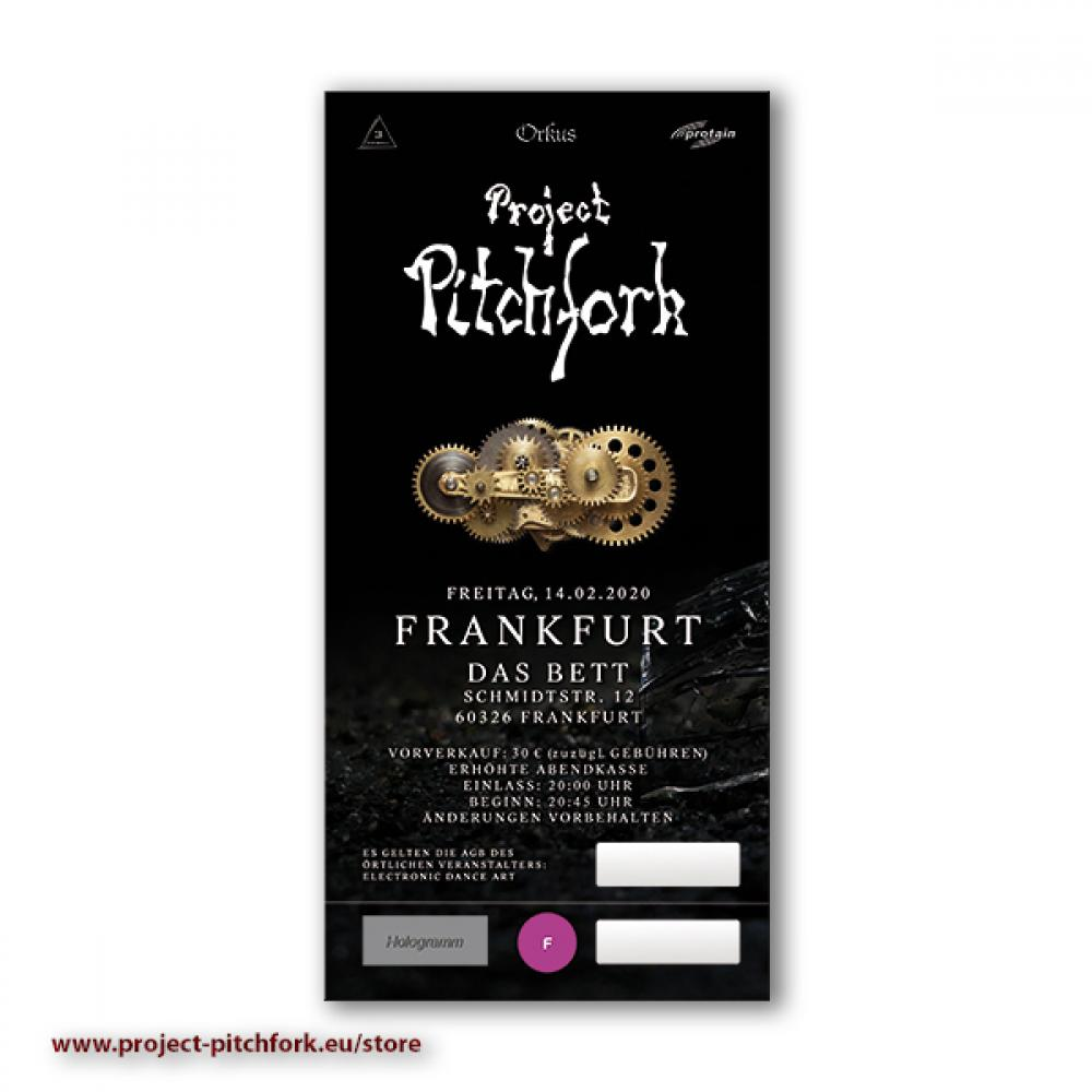Ticket PPF Frankfurt, 14.02.2020
